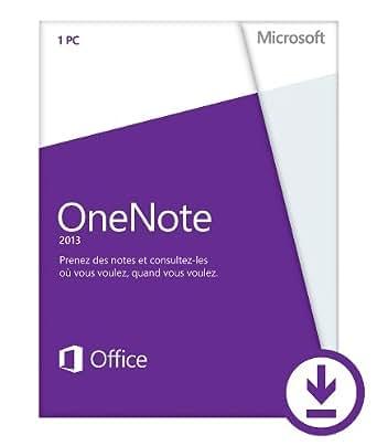 Microsoft OneNote 2013 - 1 PC / 1 utilisateur [Téléchargement]
