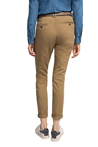 edc by ESPRIT Damen Hose Beige (BARK 255)