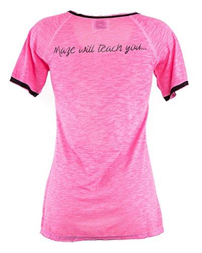 Maze Shirt MSH1-53-02 Pink