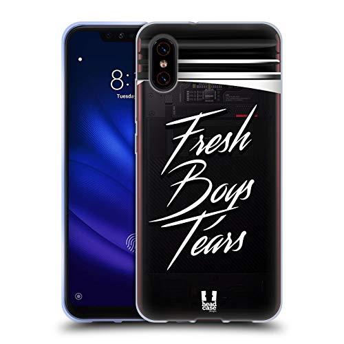 Head Case Designs Marmeladenglas Lebenswichtige Güter Soft Gel Huelle kompatibel mit Xiaomi Mi 8 Pro