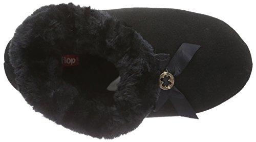 flip*flop - Couchy, Pantofole Donna Nero (Schwarz (000))
