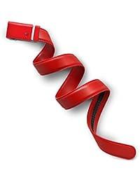 Misión cinturón colección sólido de trinquete cinturón de piel Para Hombre, 35mm