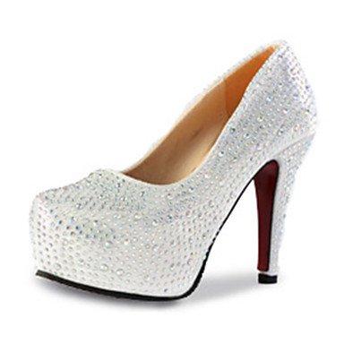 Moda Donna Sandali Sexy donna caduta tacchi tacchi PU Casual Stiletto Heel  altri di rosso /