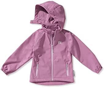 NAME IT Mädchen Jacke 13079139 Alfa Kids Sofshell, Gr. 104, Violett (DUSTY LAVENDER )