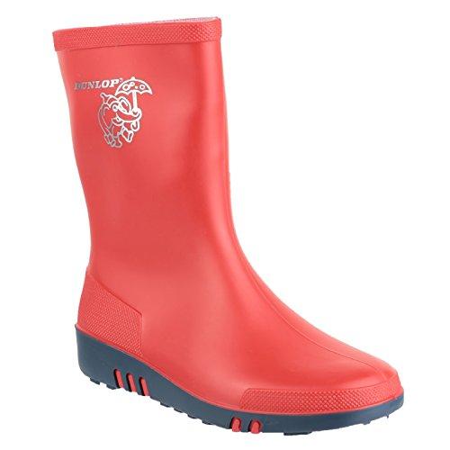 Dunlop Childrens Unisex Mini Elephant Wellington Boots