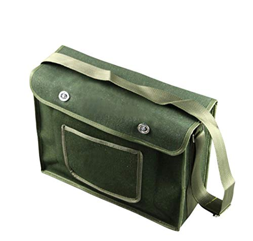 Preisvergleich Produktbild STEAM PANDA Elektriker Gürteltasche Schultertasche Werkzeug Tasche Toolkit Canvas Multifunktions Hardware Reparatur Kit Band Tasche