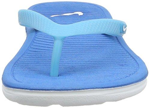 Nike Solarsoft Thong Ii, Damen Zehentrenner Sandalen Blau
