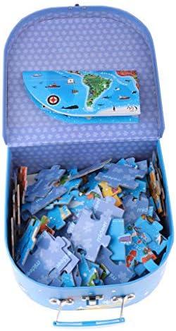 B Blesiya Puzzles Jeu Jeu Jeu de Plateau - 100Pcs Carte - Jouet éducatif   | Moelleux Et Léger  882cf7