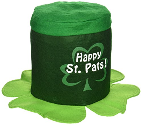 Happy St Pat's Hat Party Accessory (1 count) (1/Pkg) (St Patty Day Kostüm)