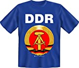 DDR - Fun t shirt, taglie S, M, L, XL, XXL, Uomo, multicolore, L