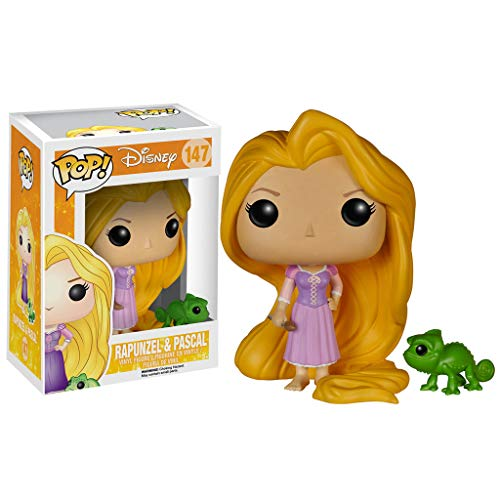 inyl Figure Rapunzel & Pascal 9 cm Inside Mini Figures ()