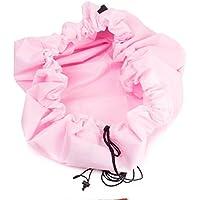 Esta.east Bolsa de Almacenamiento Rápido, Multifuncional, de Juguete para Niños, Colchoneta de Juguete, Uso Doméstico Al Aire Libre de Doble Uso (Pink)