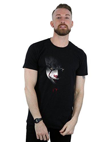 It Herren Pennywise Stare T-Shirt X-Large Schwarz