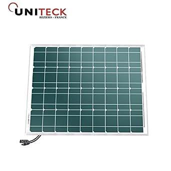 UNISUN 50.12 M - panneau photovoltaique - 50W - 12V - monocristallin - connecteurs MC4