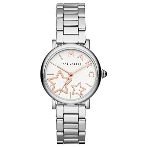 Marc by Marc Jacobs Women's MJ3591 Classic Analog Display Analog Quartz Silver Watch