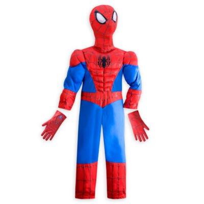 Ultimate Spider-Man Kostüm für Kinder - Größe: 3 Jahre, kommt mit Charakter Maske und Handschuhe (Kostüm Kind Pocahontas)