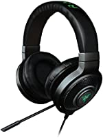 Razer Kraken 7.1 Chroma - Over-Ear USB Casque Gaming Headset, Son Surround Virtuel 7.1, Casque Gamer avec Éclairage RGB et Microphone Numérique Amélioré
