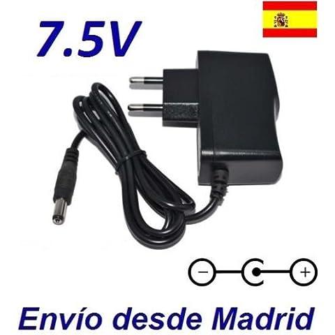 Cargador Corriente 7.5V Reemplazo Vigilabebes Philips Avent SCD536/00 Recambio Replacement