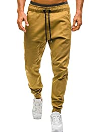 Minetom Uomo Pantaloni Sportivi Casual Pantaloni Della Tuta Elastici Sports  Pants Sweatpants Allenamento Comodo Morbido Moda b6c72888b6b
