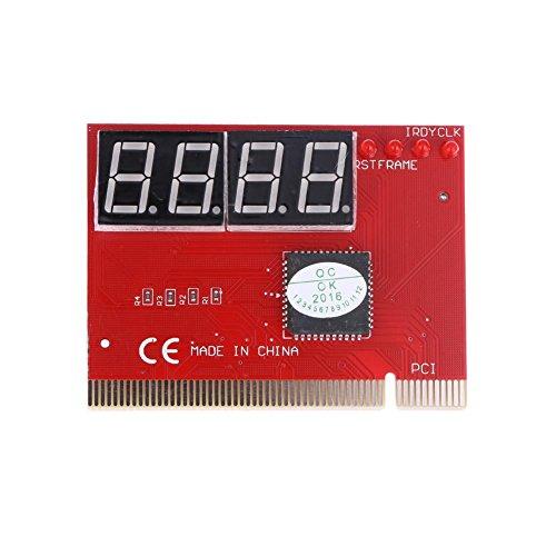 prettygood7 PC-Diagnosegerät für Mainboard (4-stelliges Code, PCI-Karte)