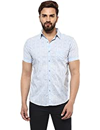 f65ba513c2 Mufti Mens Slim FIt Casual Shirts · from 2,399 · Mufti Button Down Checkes  Half Sleeves Shirt