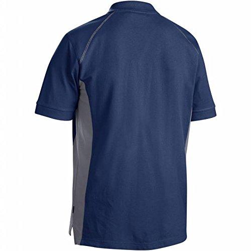 Blakläder Polo-Shirt, 1 Stück, Größe L, weiß / grau, 332410501094L marine-bleu/gris