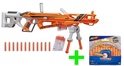 Preisvergleich Produktbild Nerf N-Strike Elite AccuStrike RaptorStrike inklusive Extra-Packung mit 12 Ersatzpfeilen
