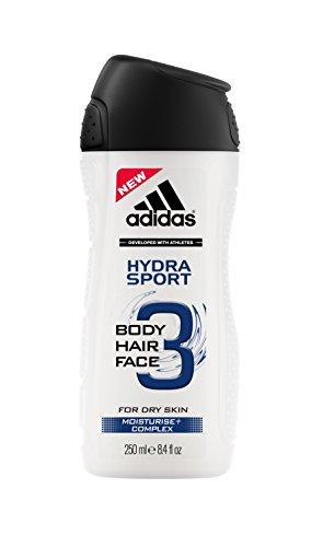 Adidas Hydra Sport 3in1 Herren, Duschgel, 250 ml