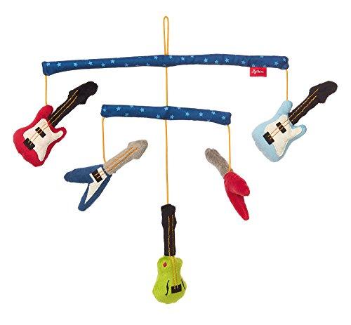 sigikid, Jungen, Mobile Gitarren, Papa und Me, Mehrfarbig, 41912