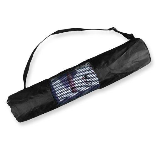 Yoga Tapis Transporteur Sac Nylon Engrener Centre Réglable Sangle Lavable Exercice Tapis