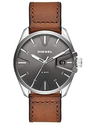 Diesel Reloj Analógico para Hombre de Cuarzo con Correa en Cuero DZ1890