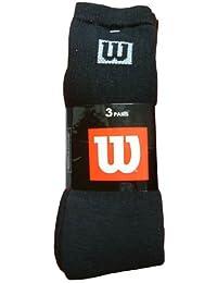 Wilson 3 Pack Crew Socks - Box Logo