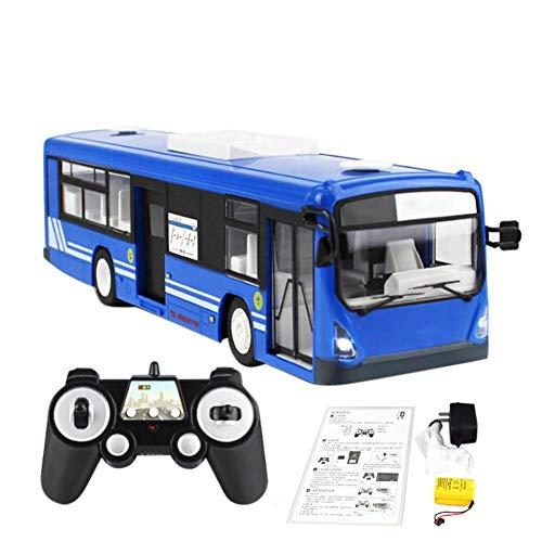 Riosupply Fernauto, E635-001 Drahtlose Fernsteuerungsspielzeugbus-Fernsteuerungsauto des Simulations-Bus-2.4G