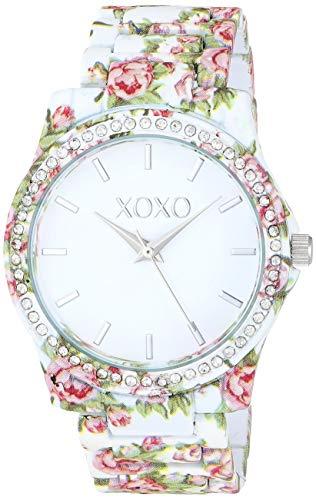 XOXO Women's Analog-Quartz Watch with Alloy Strap, Multi, 7.7 (Model: XO5896) - Watchs Xoxo Frauen