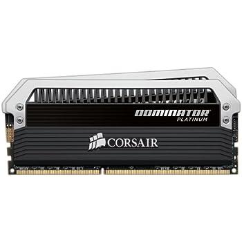Corsair CMD8GX3M2A2400C10 Dominator Platinum 8GB (2x4GB) DDR3 2400 Mhz C10 Mémoire pour ordinateur de bureau destinée aux passionnés