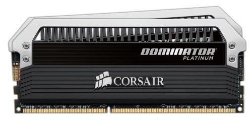 Corsair Dominator Platinum 8GB (2x4GB) DDR3 1866 MHZ (PC3 15000) Desktop Arbeitsspeicher (CMD8GX3M2A1866C9) (Platinum Ddr3-1866 Corsair)