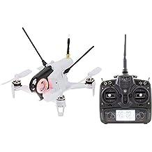 Walkera 15004400 FPV Racing-Quadrocopter Rodeo 150 RTF Drohne mit HD-Kamera, Akku, Ladegerät und DEVO 7 Fernsteuerung, weiß