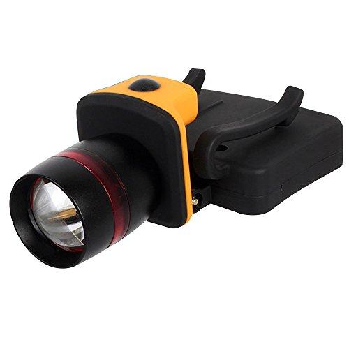 Skitic Stirnlampe Super Helle LED Light 3 Modi Zoombaren Cap Leuchte Fahrrad Lampen Taschenlampe für Camping Wanderung Jagd Leicht und Bequem, LED Kopflampe Leicht zu benutzen Stirnleuchte für Gehen, Campen, Lesen, Wandern