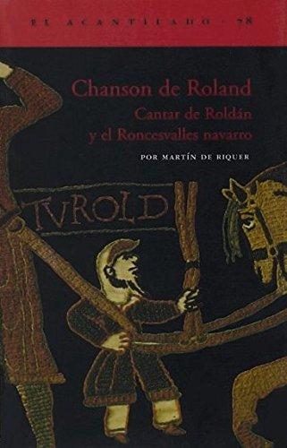 Chanson De Roland (El Acantilado) por Martín de Riquer Morera