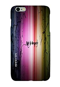 iSweven Printed _iph5s_3204 Age is beauty Design Multicolored Matte finish Back case cover for Apple iPhone 5s