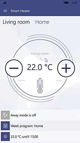 414qi950BxL - Adax Neo Wifi Electric Panel Heater (210mm Skirting Height) With Timer & Thermostat. ErP Compliant, Wall Mounted, Splash Proof, Modern. Smart Home Automation Heating. Buy Convector Heaters / Electric Radiators Online.