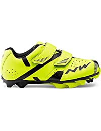 Northwave Hammer 2 Junior MTB Kids Zapatillas Amarillo/Negro, ...