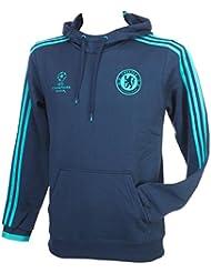 adidas CFC EU HD SWT - Sudadera para hombre, color azul / turquesa, talla XXL