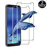 Modoca [2-Pack Pellicola Samsung Galaxy J6 2018 Vetro Temperato, (Anti-Graffo) Galaxy J6 2018 Pellicola Protettiva per J6 2018