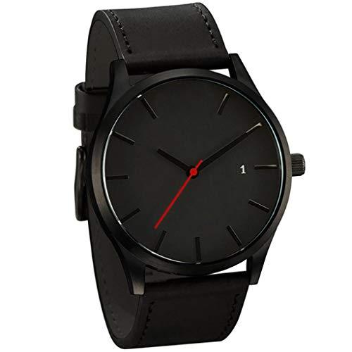 Armbanduhren Populäre Low-Key Minimalist Connotation Leder Herren Quarz Chenang Damen-/Herren-Uhr Ø 37mm Lederarmband Premium Uhren HerrenFashion Quarzuhr Unisex