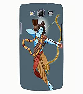 ColourCraft Lord Rama Design Back Case Cover for SAMSUNG GALAXY S3 NEO I9300I