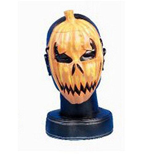 Henbrandt - Careta con diseño de calabaza para halloween (Talla Única/Naranja)