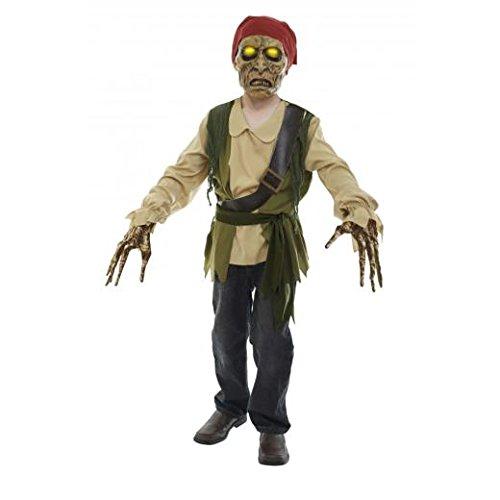 Dead Kostüm Pirate - Child Pirate Of The Dead Seas Xtreme Boys Costume: Medium (Age 8-10)