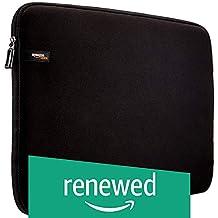 (Renewed) AmazonBasics 17.3-Inch Laptop Sleeve (Black)