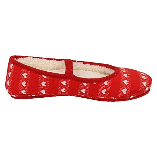 Clarks filles Pantoufles Flutter Dreams red